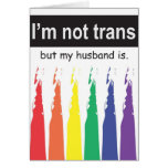 Trans Husband Notecard Card