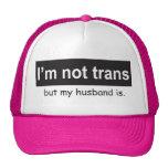 Trans Husband Trucker Trucker Hat