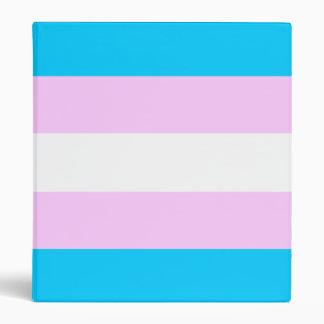 Trans pride binder