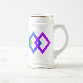 TRANS PRIDE DIAMONDS copy Beer Stein
