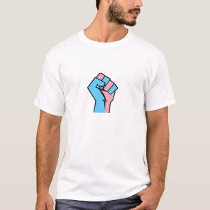 Trans Pride Fist Shirt