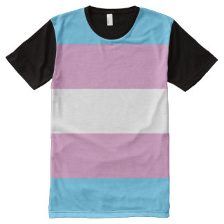 Trans Pride Flag All-Over-Print Shirt