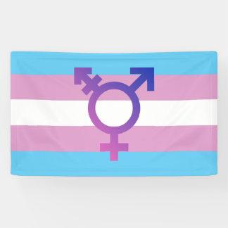Trans Pride Flag Banner