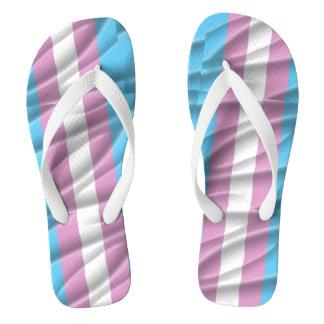 Trans Pride Flip Flops