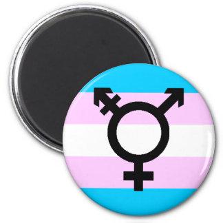 Trans Pride magnet - with symbol