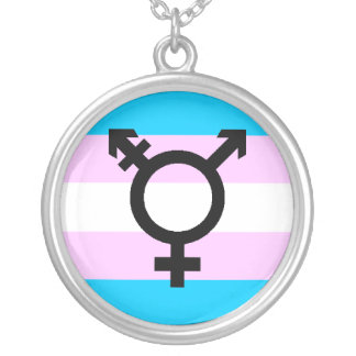 Trans Pride necklace - with symbol