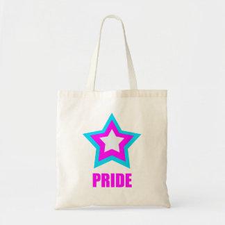 Trans Pride Star Tote Bag