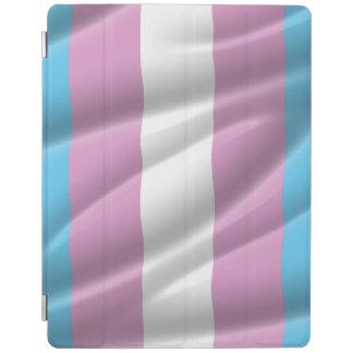 TRANS PRIDE WAVY VERTICAL - 2014 PRIDE.png iPad Cover