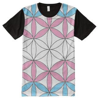 trans sacred geometry All-Over-Print shirt
