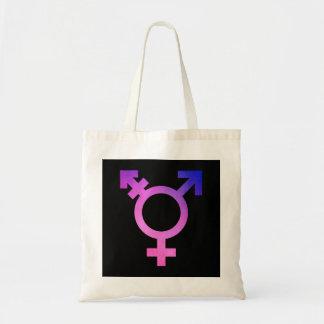 Trans Symbol Tote Bag