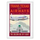 Trans-Texas Airways-Card Card