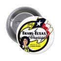 Trans-Texas Airways vintage logo Pin