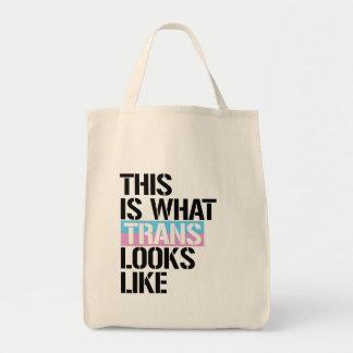 Trans - This is what Trans looks like - - LGBTQ Ri Tote Bag