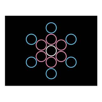 tranSacred circles Postcard