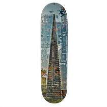 artsprojekt, transamerican, lifestyle, downtown, sanfrancisco, Skateboard with custom graphic design