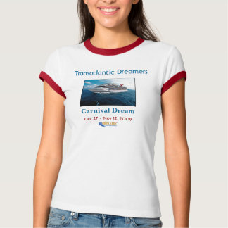 transatlantic Dreamers - ladies t shirt