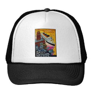Transatlantic French Line Trucker Hat