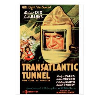 Transatlantic Tunnel Postcards