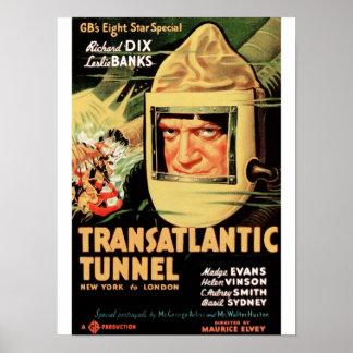 Transatlantic Tunnel Poster