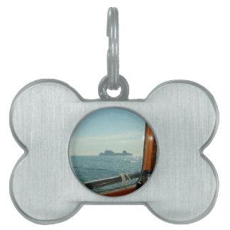 Transbordador a través de la mancha de la timonera placas de nombre de mascota