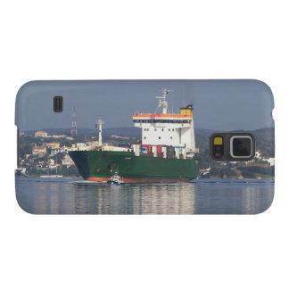 Transbordador comercial verde de Vehical Funda Para Galaxy S5