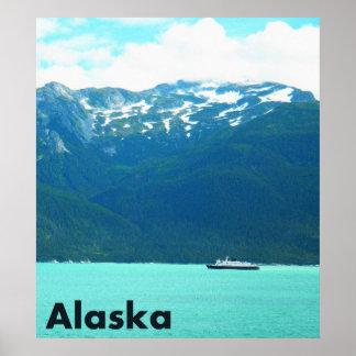 Transbordador de Alaska Póster