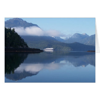 Transbordador de Alaska Tarjeta De Felicitación