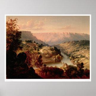Transbordador de Byrnes en el río de Stanislaus 0 Posters