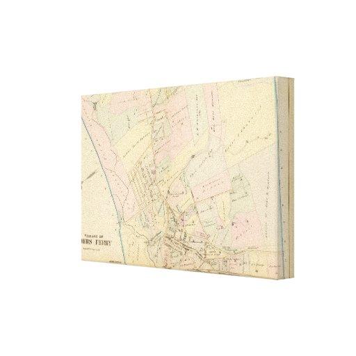Transbordador de Dobbs, Nueva York Impresión En Lona