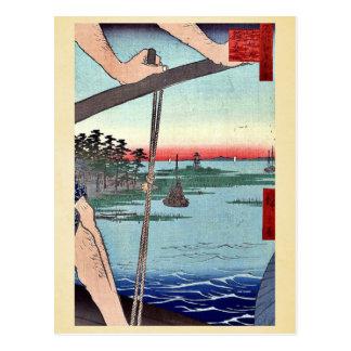 Transbordador de Haneda y capilla de Benten por An Postal