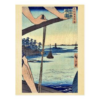 Transbordador de Haneda y capilla de Benten por An Postales