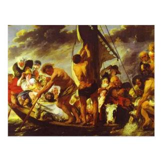 Transbordador de Jacob Jordaens- a Amberes Postales