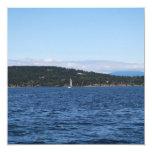 Transbordador de la isla de Guemes Invitación 13,3 Cm X 13,3cm
