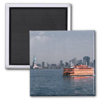 Transbordador de Staten Island Imán Cuadrado