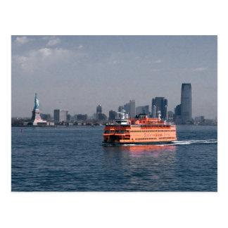 Transbordador de Staten Island Tarjeta Postal