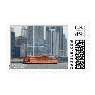 Transbordador de Staten Island Timbre Postal
