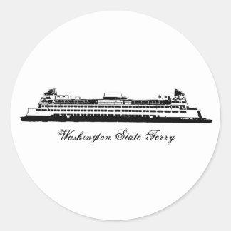 Transbordador del estado de WA Etiquetas