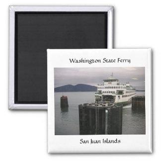 Transbordador del estado de Washington Imán Cuadrado
