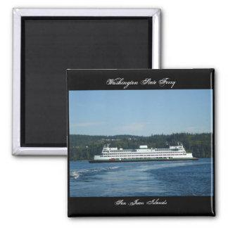 Transbordador del estado de Washington, islas de S Imán Cuadrado