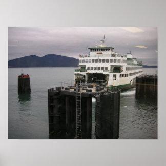 Transbordador del estado de Washington Póster
