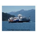 Transbordador del lago Kootenay, Columbia Postal
