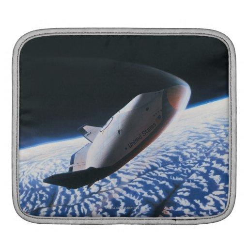 Transbordador espacial 4 funda para iPads