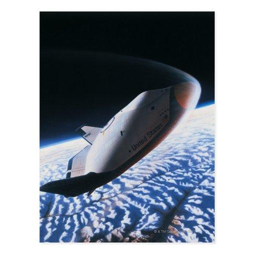 Transbordador espacial 4 postal