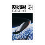 Transbordador espacial 4 timbres postales