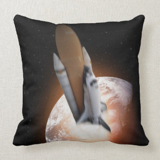 Transbordador espacial 5 cojín decorativo