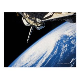 Transbordador espacial 6 tarjetas postales