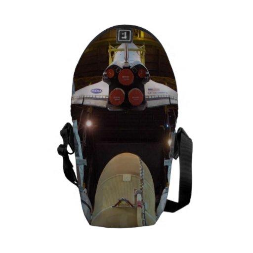 Transbordador espacial bolsas de mensajería