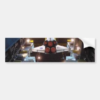 Transbordador espacial pegatina para auto