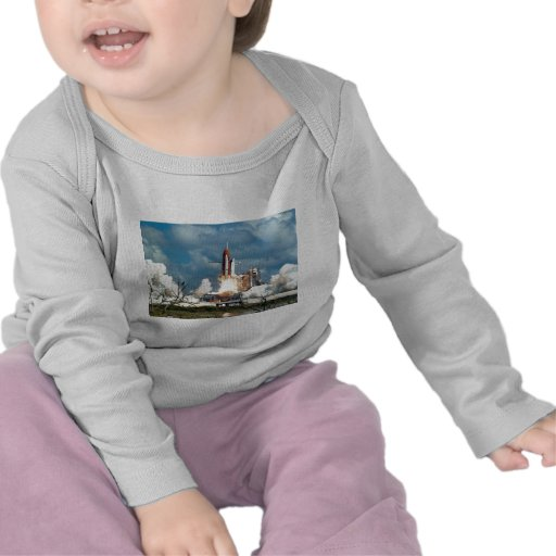 Transbordador espacial camisetas