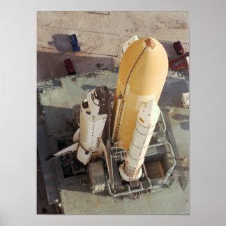 Transbordador espacial Columbia (STS-90) Poster